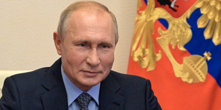 El presidente ruso Vladimir Putin en una videoconferencia el pasado viernes. EFE/EPA/ALEXEI DRUZHININ / KREMLIN POOL/SPUTNIK