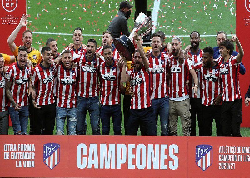 Atlético de Madrid campeón de Liga RCV