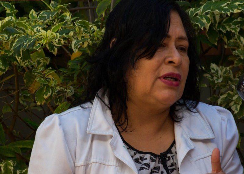 Miriam Aguilera, vocera del Colegio de Microbiólogos y Químicos Clínicos de Honduras. RCV
