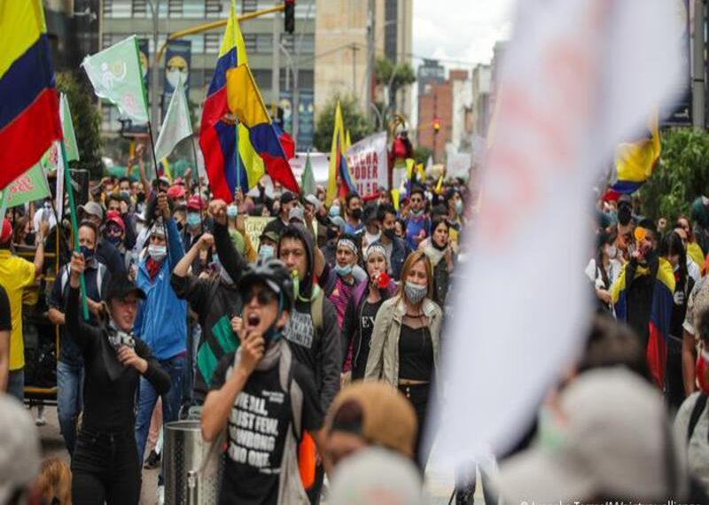 Hace seis días comenzaron las protestas en Colombia. RCV