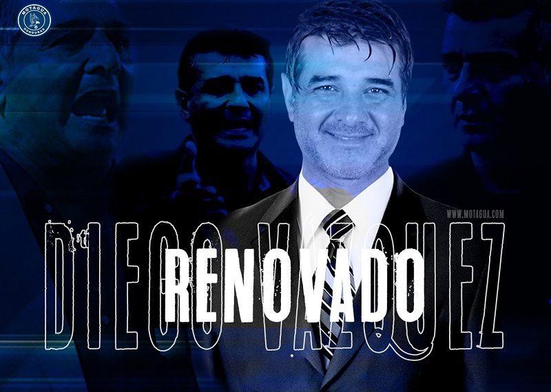 Diego Vásquez renovado RCV