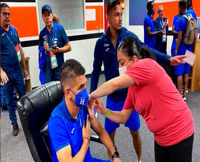 Selección de Honduras se vacuna RCV