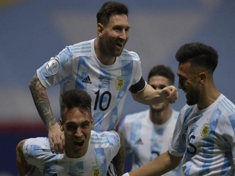 Argentina a la final RCV