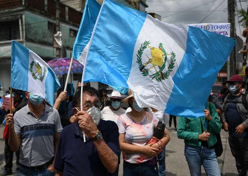 Este 23 de julio fue destituido, Juan Francisco Sandoval, exfiscal de Guatemala. RCV
